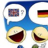 Anna: Ich spreche Deutsch und Englisch. I speak German and English.